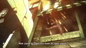 Also time for Jojo to shoot up some vampires
